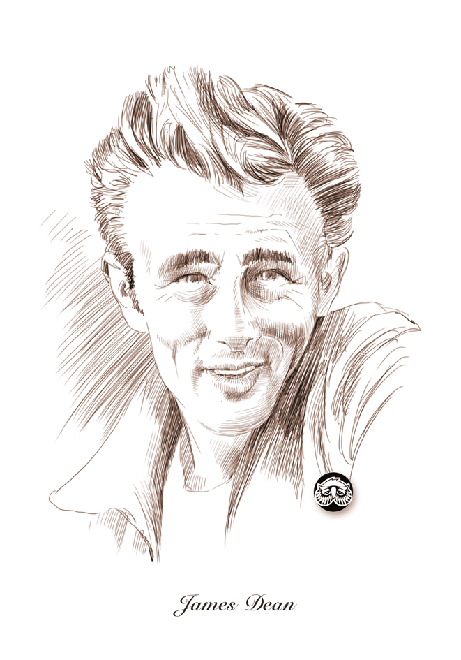 james dean COLOR